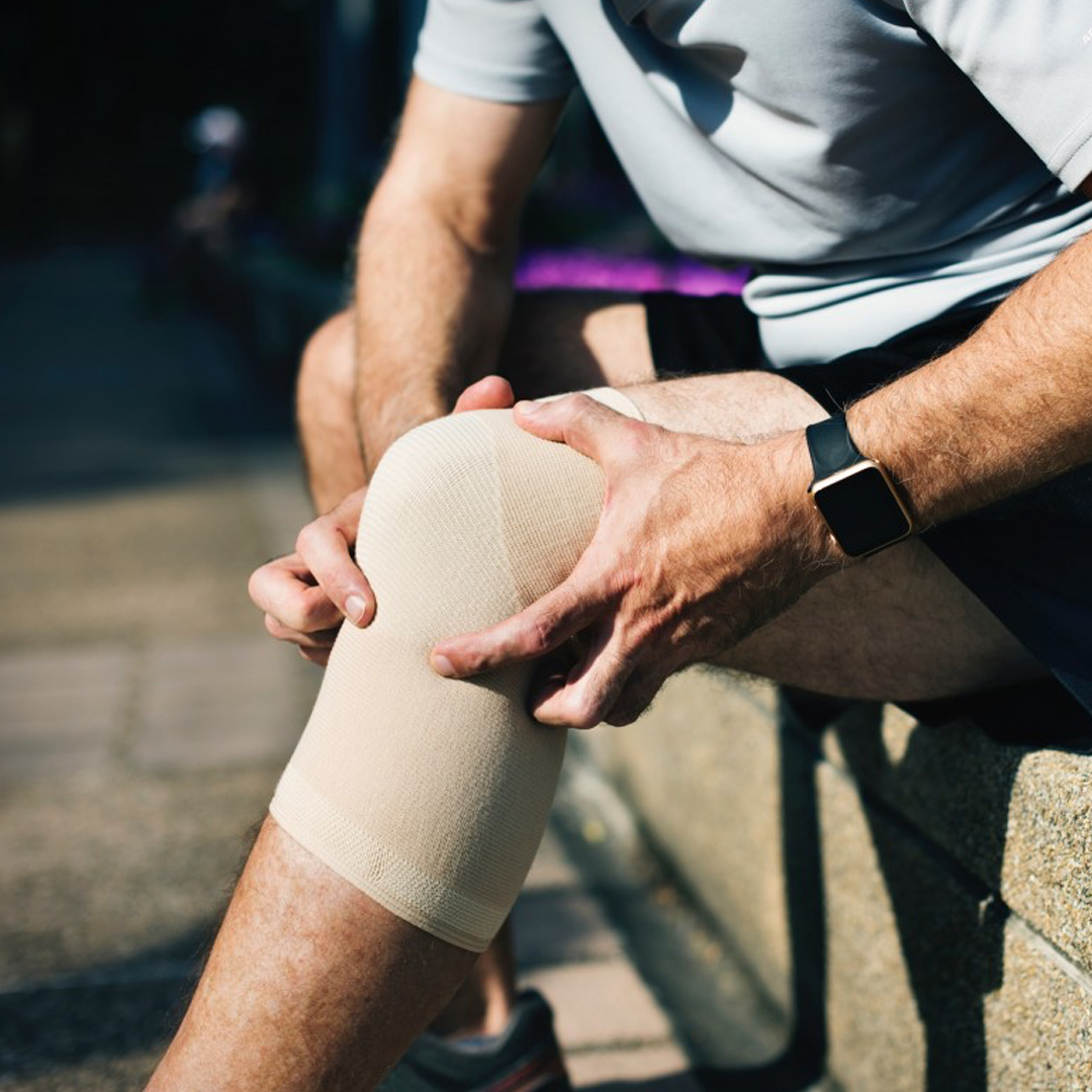 Patient with chronic knee pain